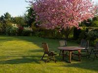 Gartenlaube als Wohnsitz