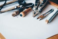 Gartenlaube Werkzeug